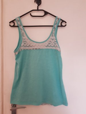 Bisou's Project Strappy Top turquoise