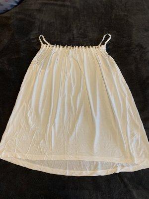 rick cardona Top z cienkimi ramiączkami w kolorze białej wełny