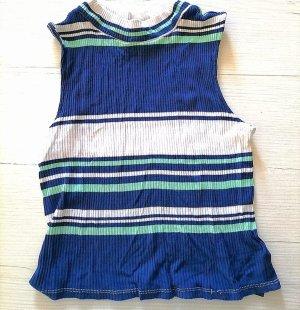 Tally Weijl Boatneck Shirt white-light blue