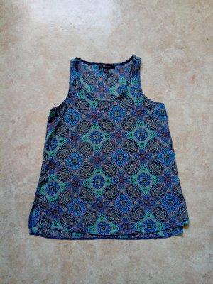 Primark Blouse topje blauw-turkoois Polyester