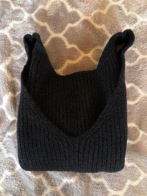Sheinside Haut en crochet noir