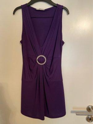 KD 12 Haut taille empire violet