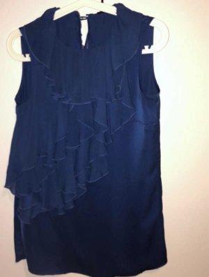 Sisley Blouse topje donkerblauw