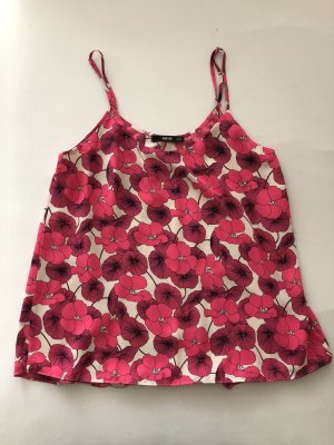 Oasis A Line Top white-raspberry-red