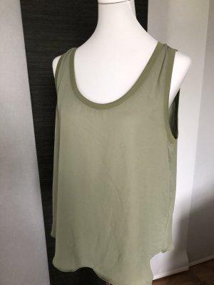 0039 Italy Top koszulowy oliwkowy-khaki