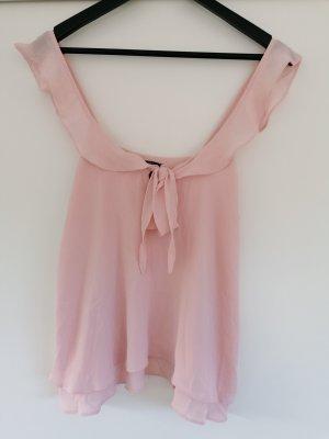 Forever 21 Blouse topje stoffig roze-rosé