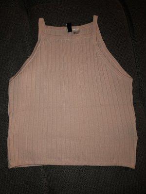H&M Top básico rosa