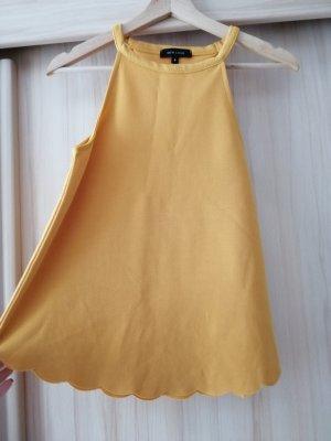 New Look Blouse topje zandig bruin-goud Oranje