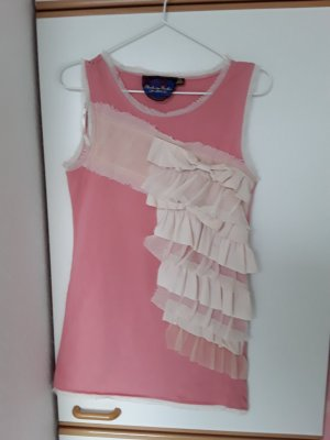 Frill Top pink