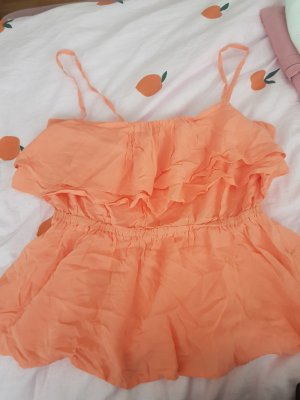 Tally Weijl Frill Top nude-apricot