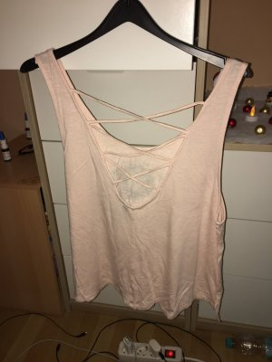 H&M Divided Long Top light pink