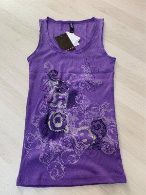 Colours of the World Top básico violeta grisáceo