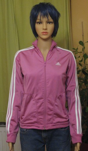 Adidas Sports Jacket pink polyester