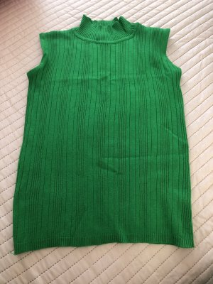 Camisa acanalada verde