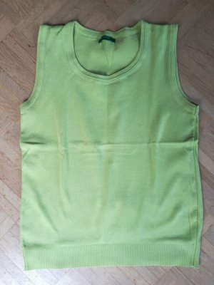 Top, ärmelloses Shirt, hellgrün/kiwi