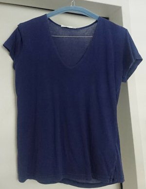 Allude Basic Top blue cotton