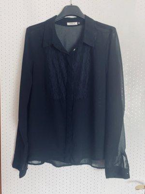 Top Angebot heute: Transparente Bluse in Schwarz