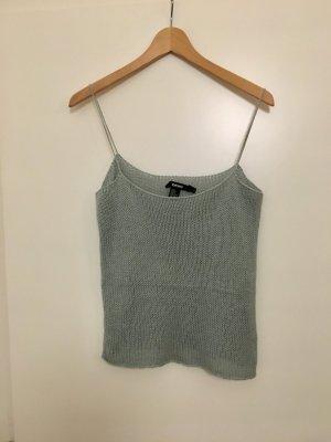 DKNY Crochet Top pale blue