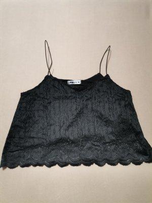 FB Sister Haut en dentelle noir polyester