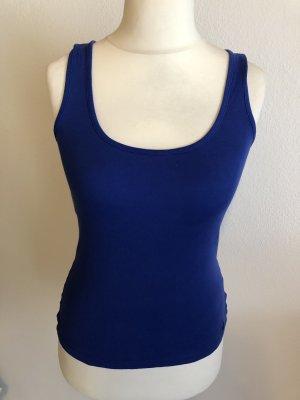 Top Basictop Unterhemd blau Gr. S