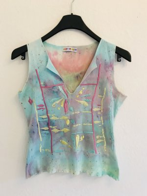 Heartbreaker Batik Shirt multicolored cotton