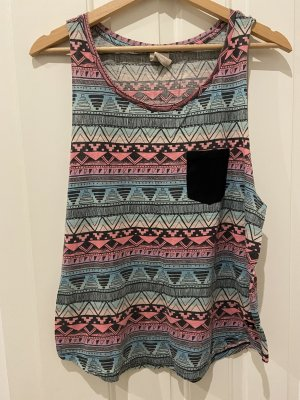 Pink Victoria's Secret Tank Top pink-turquoise