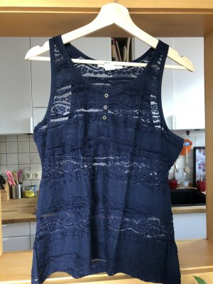 Top Blau Transparent
