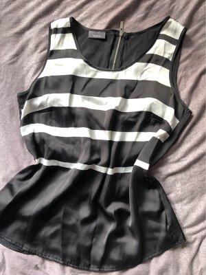 Yessica Blouse topje zwart-wit