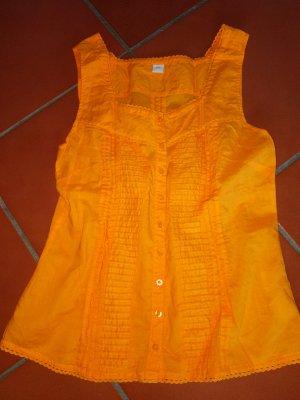 top blusentop von S Oliver Größe 34 XS orange leuchtend neu ungetragen