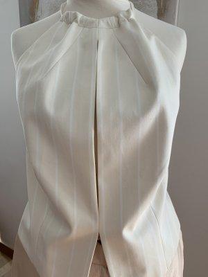 Joop! Blusa sin espalda blanco puro Algodón
