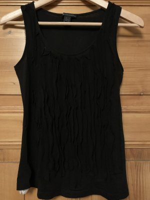 Mango Casual Sportswear Basic topje zwart