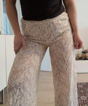 Culottes natural white mixture fibre