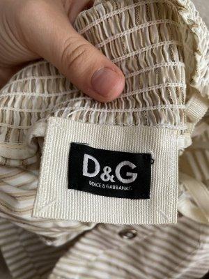 Dolce & Gabbana Top línea A blanco-crema