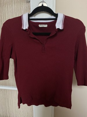 Brave Soul Polo Top white-bordeaux