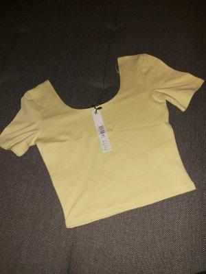 Tally Weijl Top linea A giallo pallido