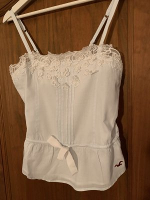 Hollister Bustier Top white-azure