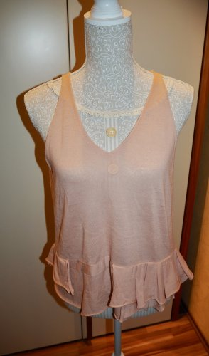 Top Damen Schumacher S/M 36/38 rosé Wolle