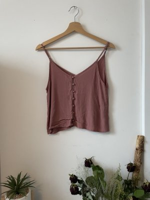 Forever 21 Cut out top framboosrood