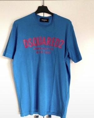 Dsquared2 Camiseta azul-blanco