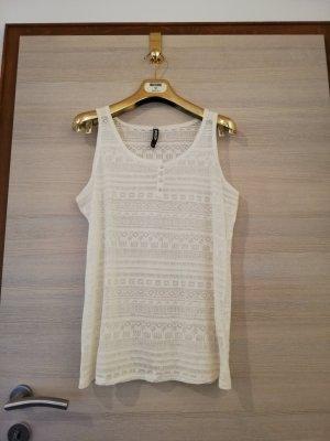 1982 Camiseta sin mangas blanco