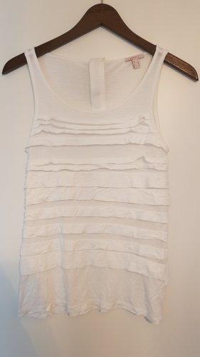 Esprit Frill Top white