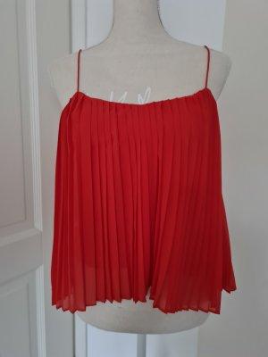 Abercrombie & Fitch Top met spaghettibandjes rood