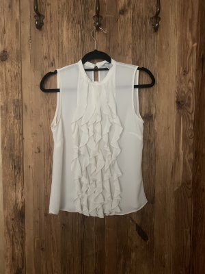H&M Cowl-Neck Shirt natural white-white