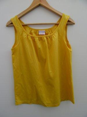Top gelb Vintage Retro Gr. M
