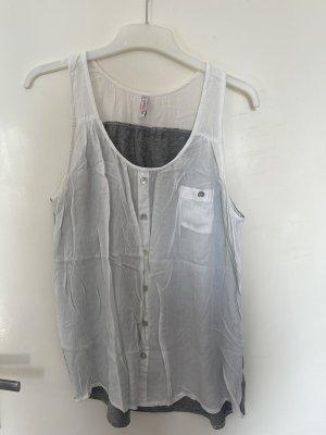 Muscle Shirt grey-white