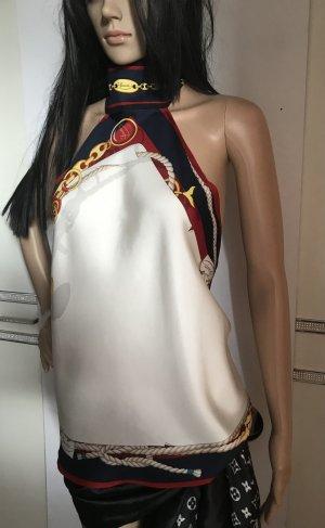 Gucci Blusa sin espalda multicolor Seda