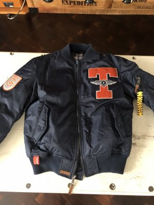 Flight Jacket dark blue