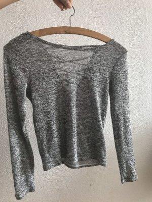 H&M Backless Top grey-light grey