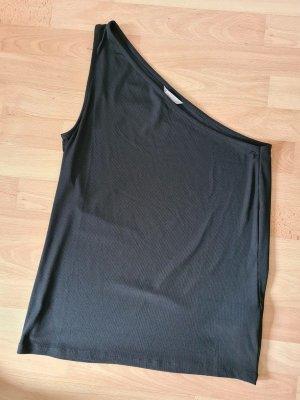 H&M Haut avec une épaule dénudée noir