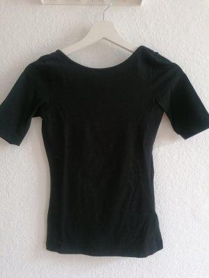 H&M Basic Blusa sin espalda negro